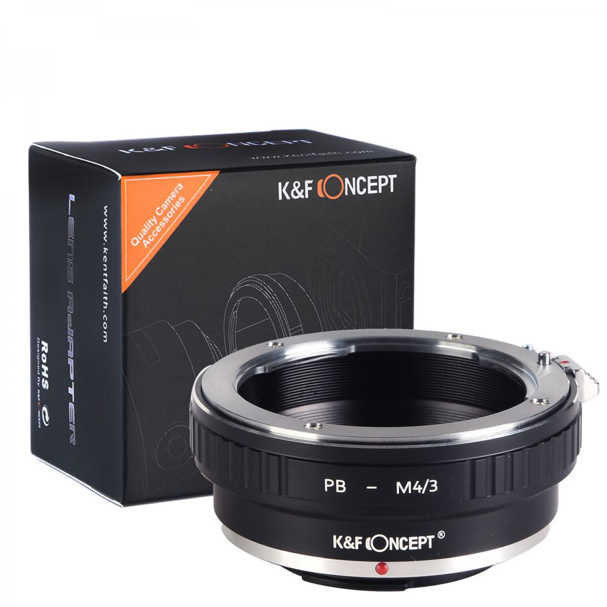K&F M30121 Praktica Lenses to M43 MFT Lens Mount Adapter