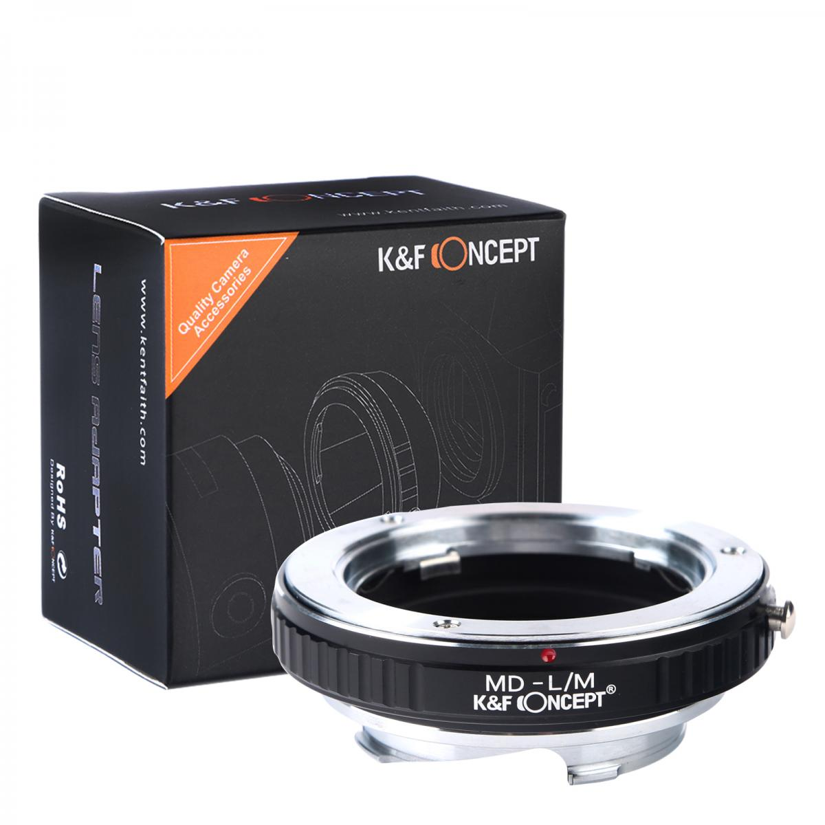 K&F M15151 Minolta MD Lenses to Leica M Lens Mount Adapter