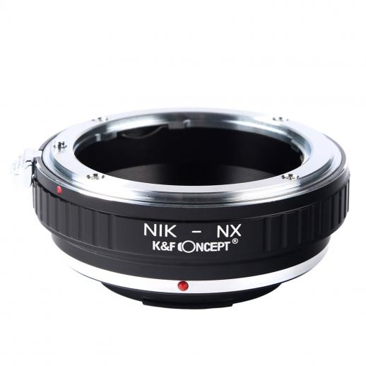 Nikon F Lenses to Samsung NX Camera Mount Adapter