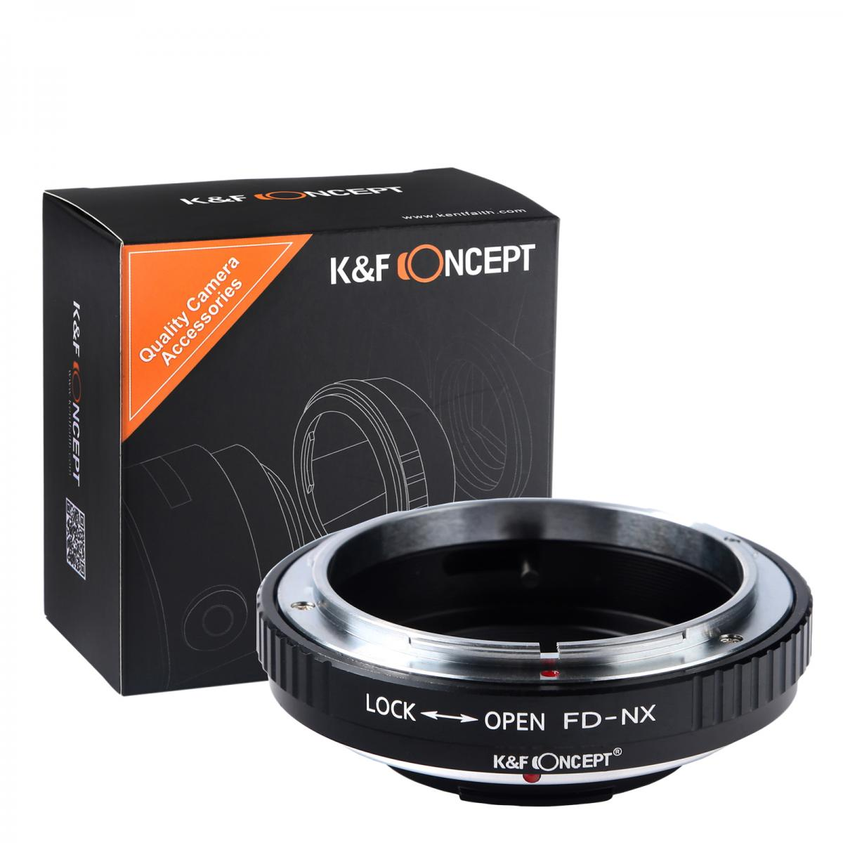 K&F M13251 Canon FD Lenses to Samsung NX Lens Mount Adapter