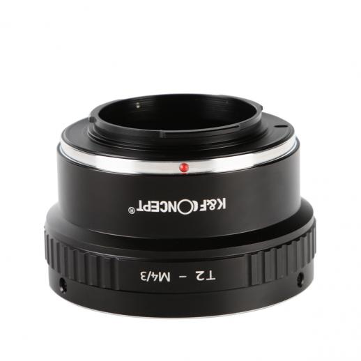 T2 Lenses to M43 MFT Mount Camera Adapter