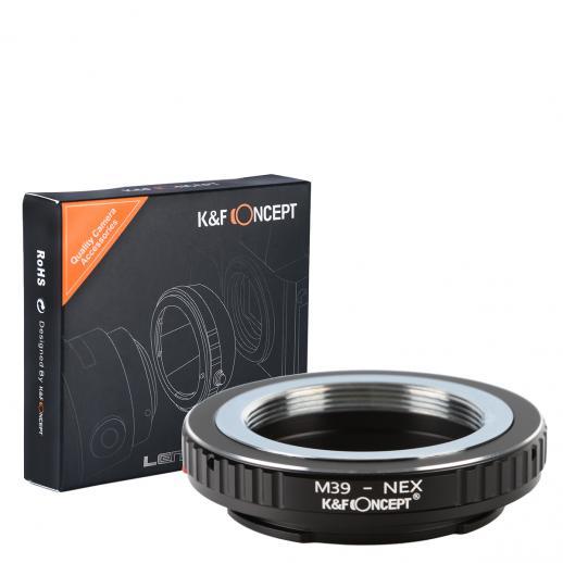 M39 Lenses to Sony NEX E Mount Camera Adapter