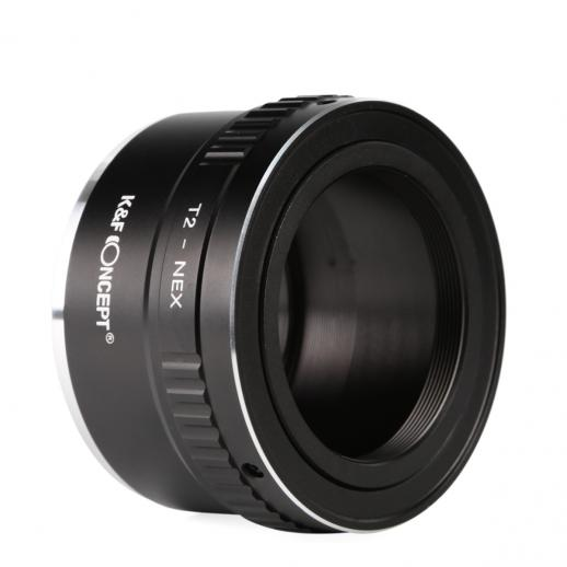 T2 Lenses to Sony E Mount Camera Adapter