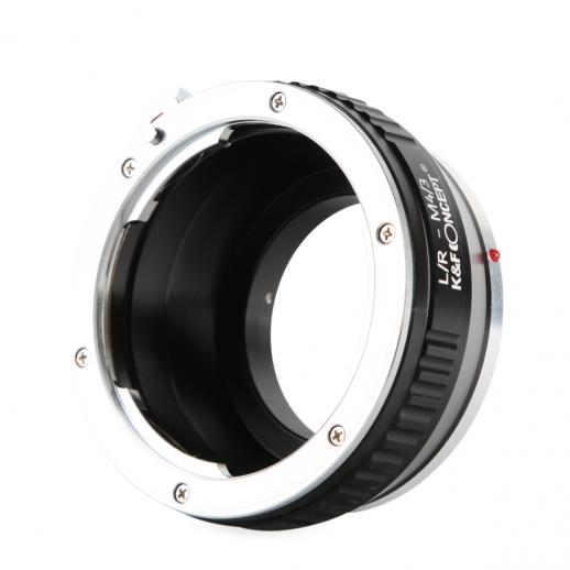 Leica R Lenses to M43 MFT Mount Camera Adapter