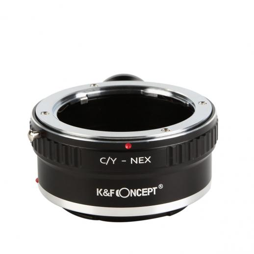K&F M14102 Contax Yashica Lenses to Sony E Lens Mount Adapter with Tripod Mount