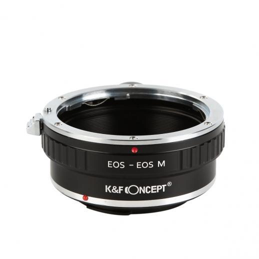 Canon EOS EF Lentes para Canon EOS M Câmera Adaptador com Tripé Monte