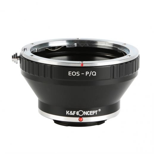 Canon EOS EF Lenses to Pentax Q Camera Mount Adapter with Tripod Mount