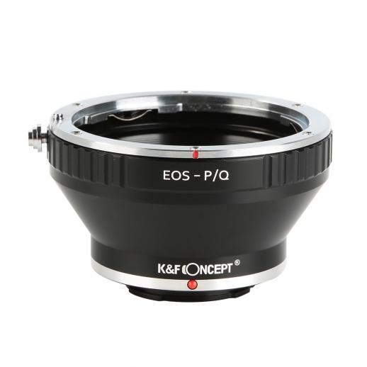 Adaptador Lentes Canon EF para corpo Pentax Q
