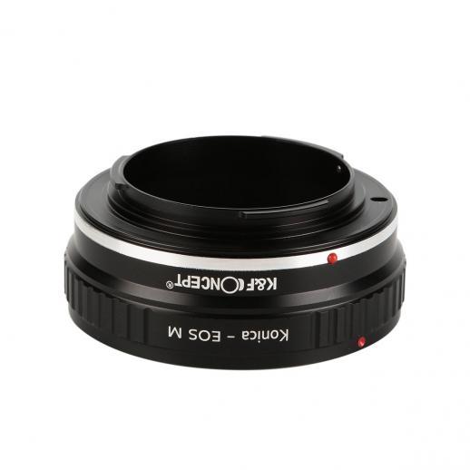 コニカARレンズ、Canon EOS Mカメラマウントアダプター