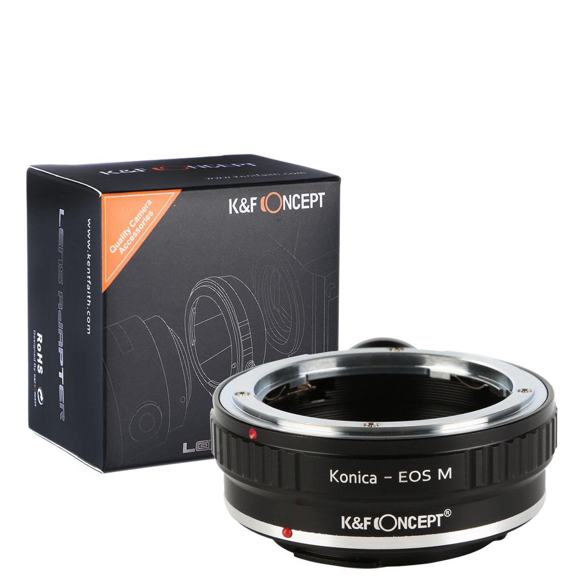 K&F M24142 Konica AR Lenses to Canon EOS M Lens Mount Adapter