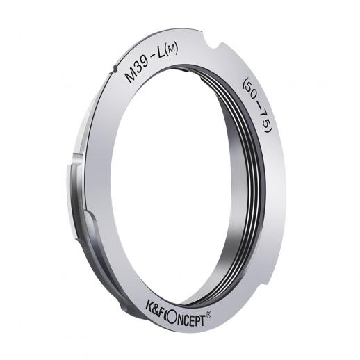 K&F M19151 M39 50mm/75mm Lenses to Leica M Lens Mount Adapter