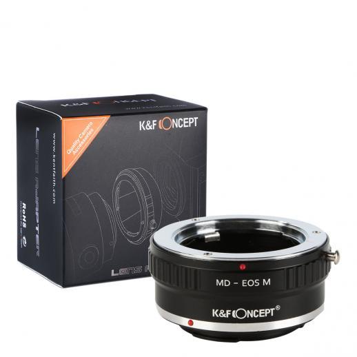 Minolta MD MC Lenses to Canon EOS M Camera Mount Adapter