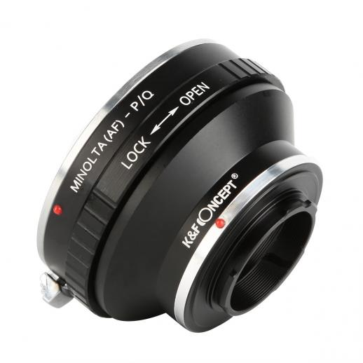 Minolta A / Sony A Lenses to Pentax Q Camera Mount Adapter
