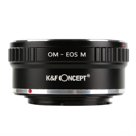 Olympus OM Lenses to Canon EOS M Camera Mount Adapter