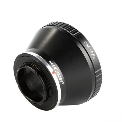 Olympus OM Lenses to Pentax Q Camera Mount Adapter with tripod mount
