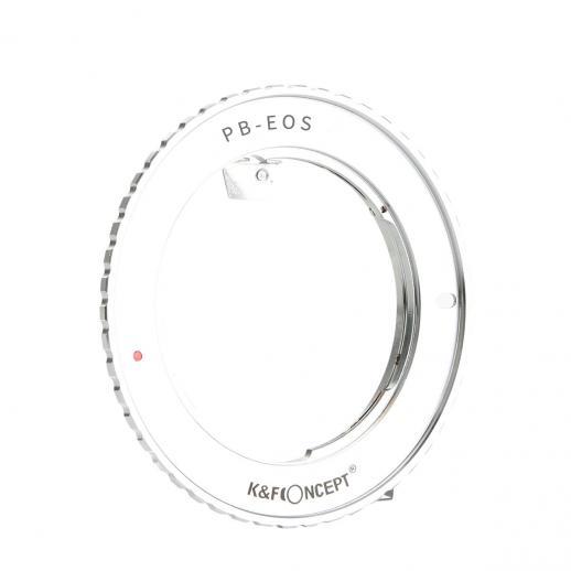 Praktica B Lenses to Canon EF Mount Camera Adapter