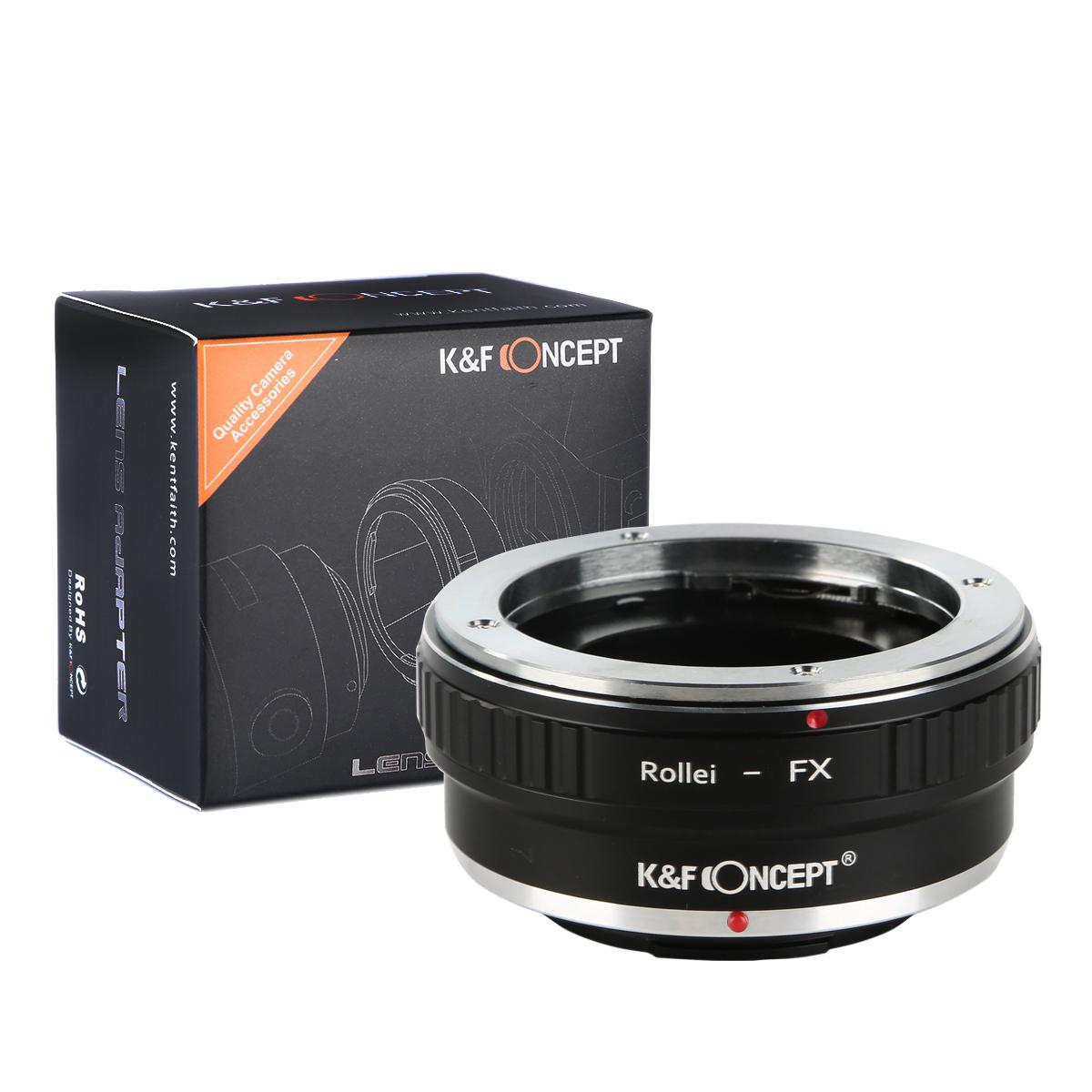 K&F M37111 Rollei QBM Lenses to Fuji X Lens Mount Adapter For DSLR