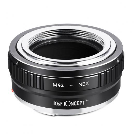 M42 Lenses to Sony E Mount Camera Copper Adapter