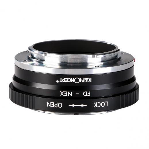 Canon FD Lenses to Sony E Mount Camera Copper Adapter