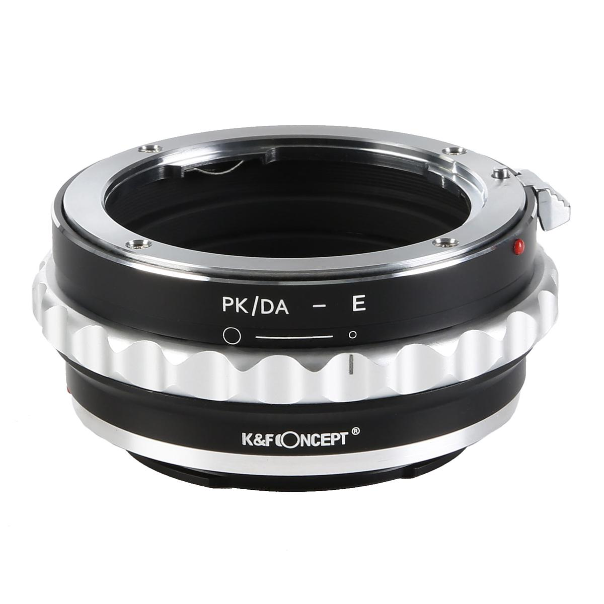 K&F M35101 Pentax K/M/A/FA/DA Lenses to Sony E Lens Mount Adapter For DSLR