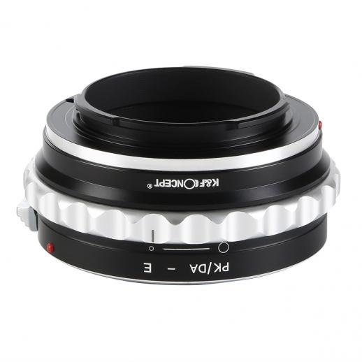 Pentax K/M/A/FA/DA Lenses to Sony E Mount Camera Adapter
