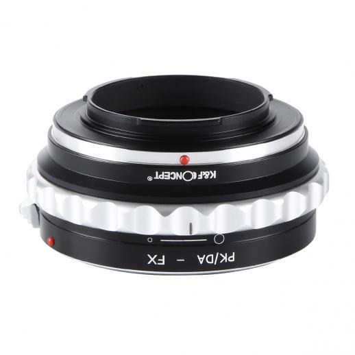 Pentax K/M/A/FA/DA Lenses to Fuji X Mount Camera Adapter