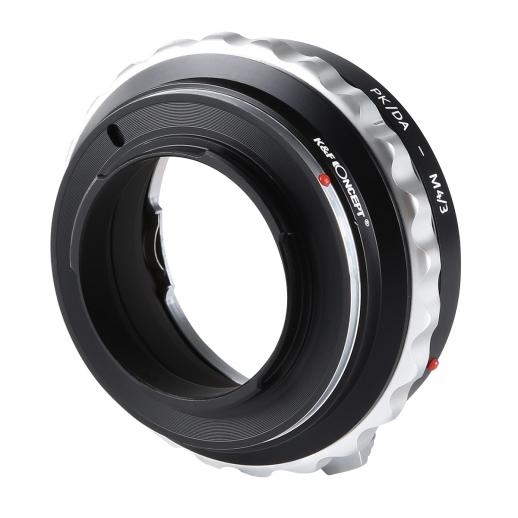 Pentax K/M/A/FA/DA Lenses to M43 MFT Mount Camera Adapter