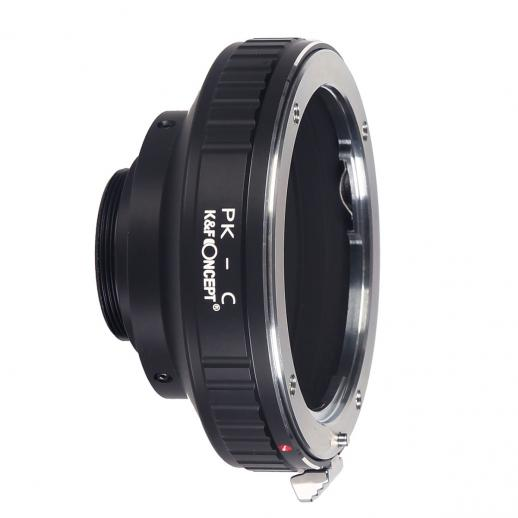K&F M17231 Pentax K Lenses to C Lens Mount Adapter