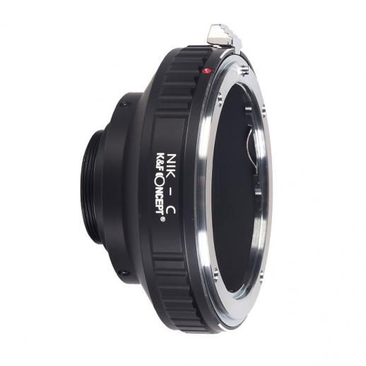 Nikon F Lenses to C Mount Camera Adapter