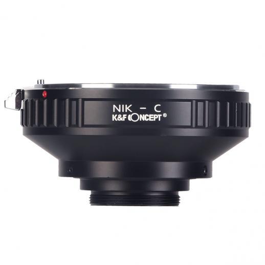 Nikon F Lenses to C Mount Camera Adapter