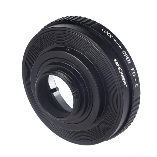 Canon FD Lenses to C Mount Camera Adapter