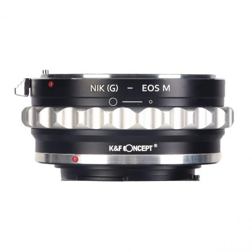 Nikon G/F/AI/AIS/D Lenses to Canon EOS M Mount Camera Adapter