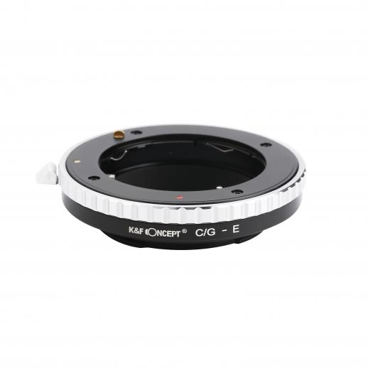 Contax G Lenses to Sony E Mount Camera Adapter