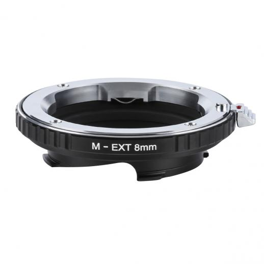 Leica M Lenses to Leica M Mount M-EXT 8mm Adapter