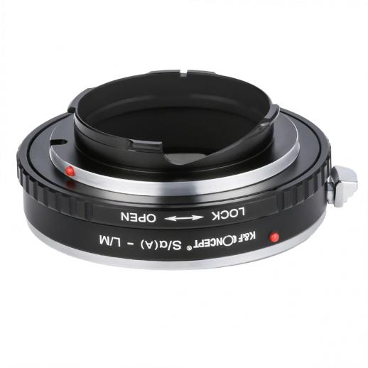 Minolta A / Sony A Lenses to Leica M Camera Mount Adapter