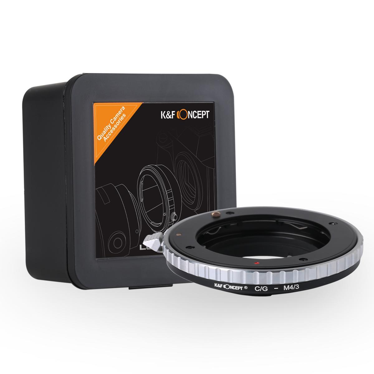 K&F M26121 Contax G Lenses to M43 MFT Lens Mount Adapter