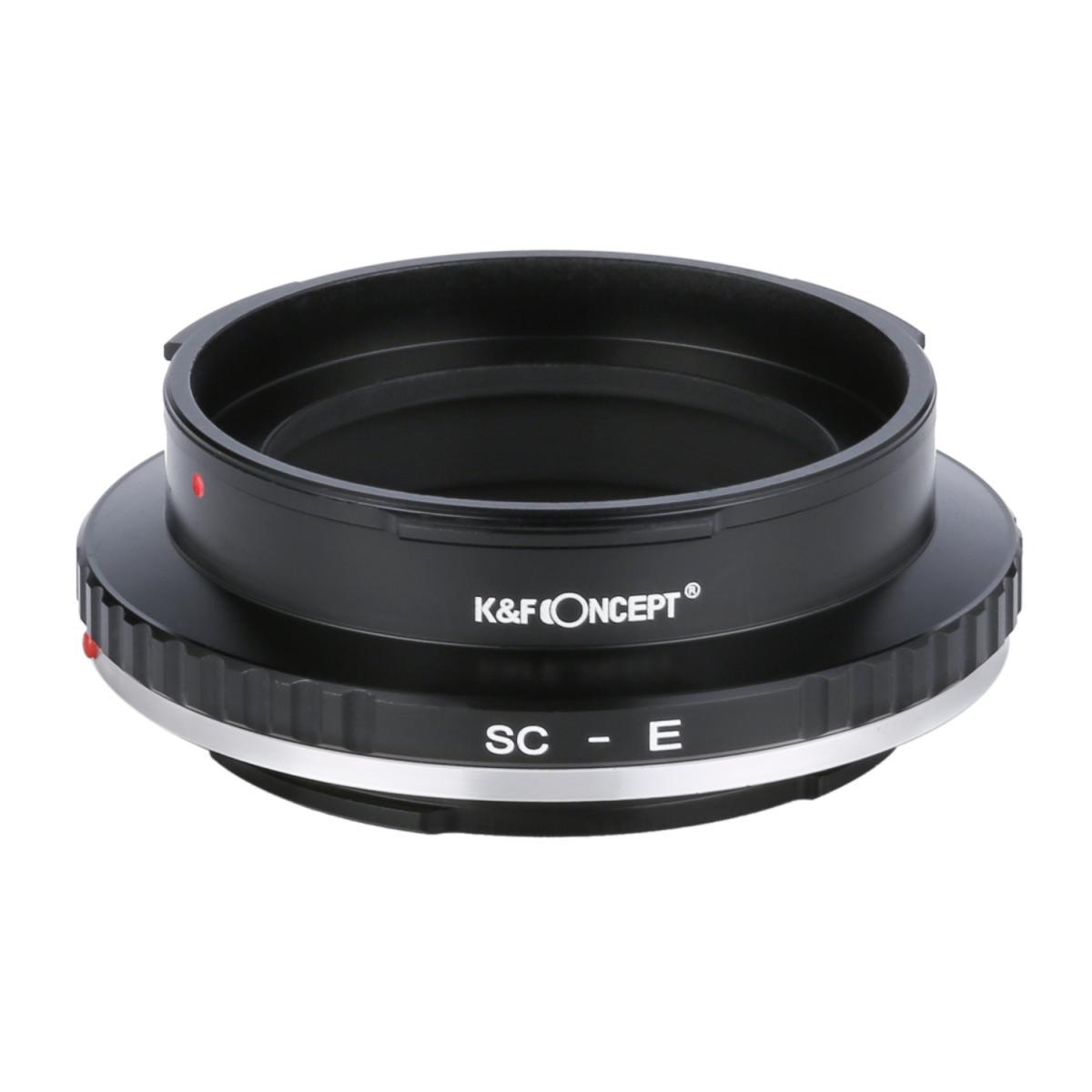 K&F M48101 Contax RF / Nikon S Lenses to Sony E Lens Mount Adapter