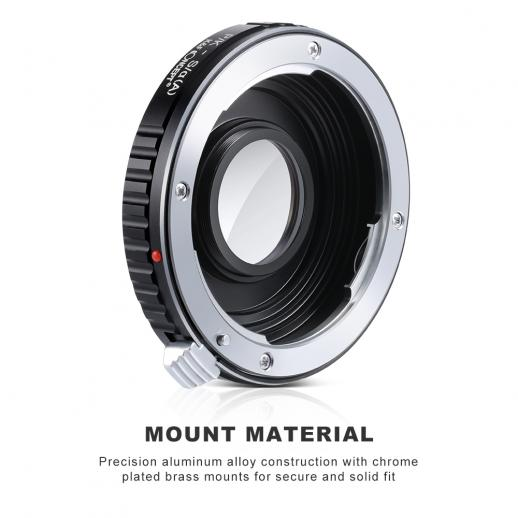 K&F M42271 Pentax K Lenses to Sony A Lens Mount Adapter
