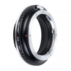 K&F M12211 Canon EOS EF Lenses to Fuji GFX Lens Mount Adapter For DSLR