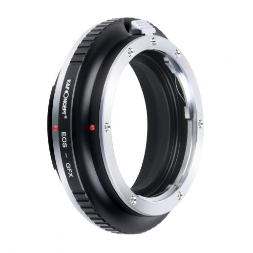 K&F M12211 Canon EOS EF Lenses to Fuji GFX Lens Mount Adapter For DSLR