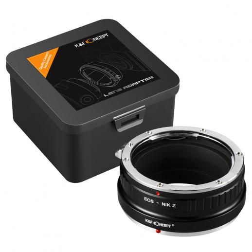 Canon EF Lenses to Nikon Z Mount Camera Adapter