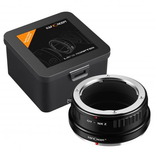 Contax Yashica Lenses to Nikon Z Mount Camera Adapter