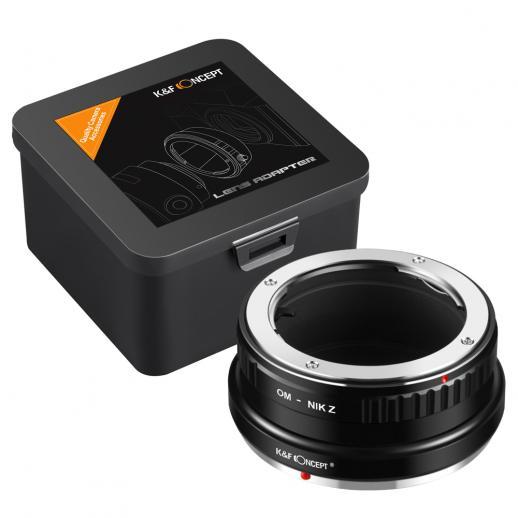 Olympus OM Lenses to Nikon Z Mount Camera Adapter