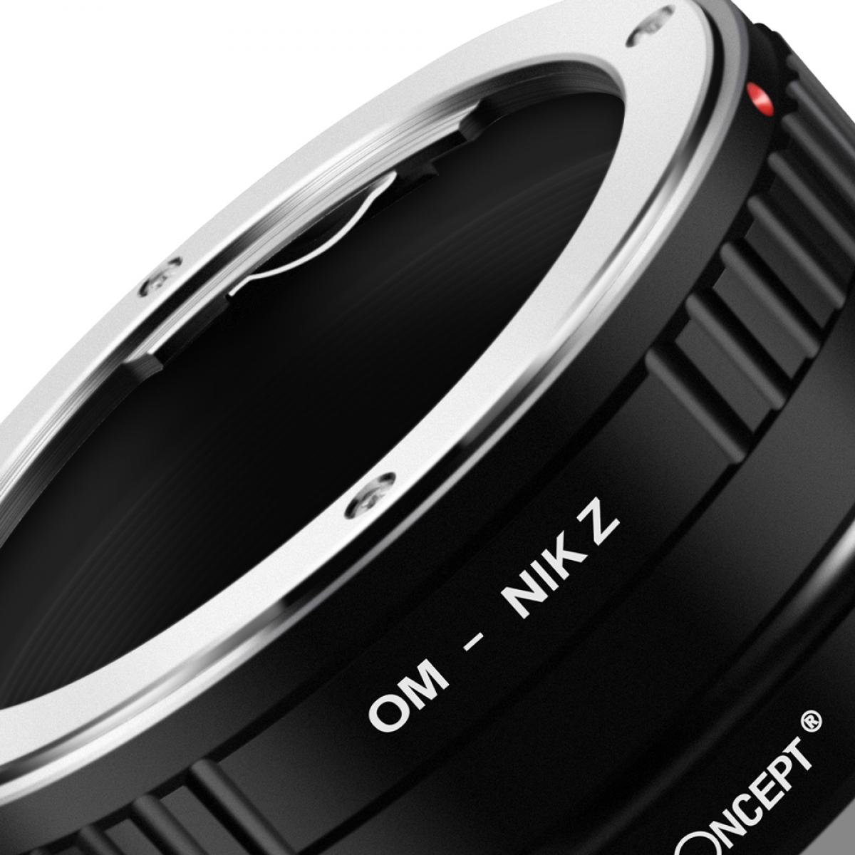 K&F M16184 Olympus OM Lenses to Nikon Z Lens Mount Adapter