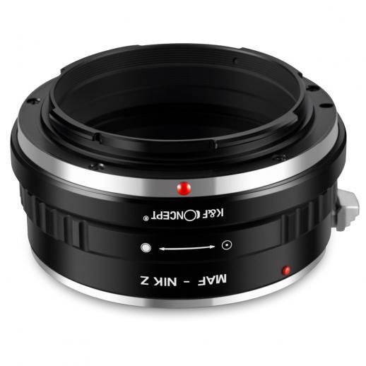 Minolta A / Sony A Lenses to Nikon Z Mount Camera Adapter
