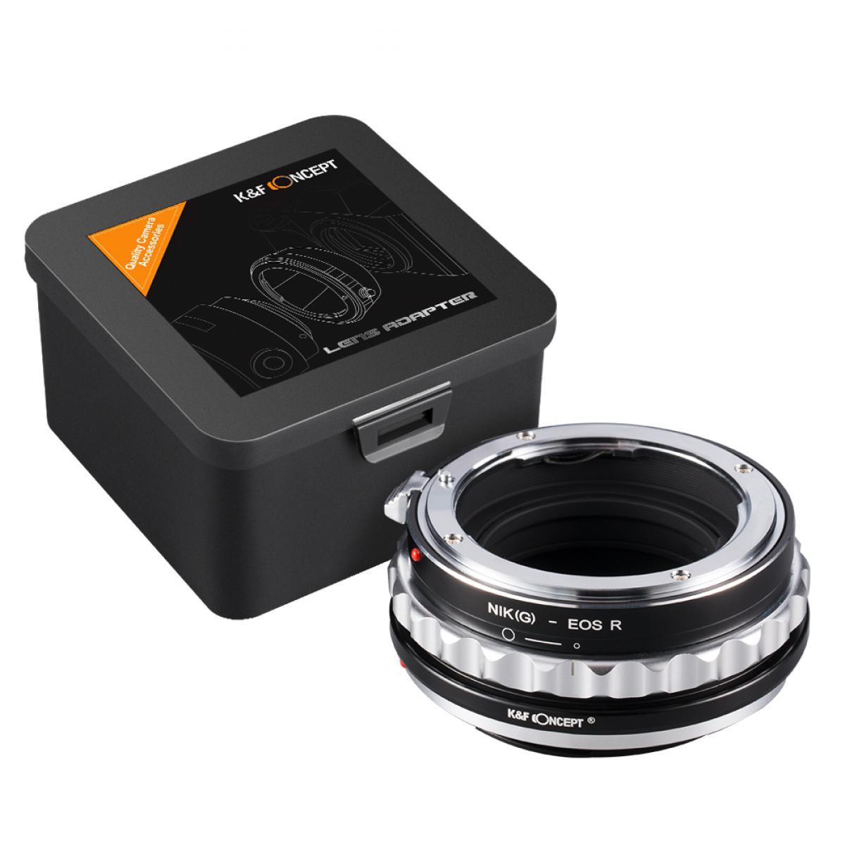K&F M18194 Nikon G Lenses to Canon EOS R Lens Mount Adapter