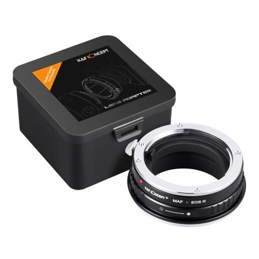 Minolta A / Sony A Lenses to Canon EOS R Mount Camera Adapter