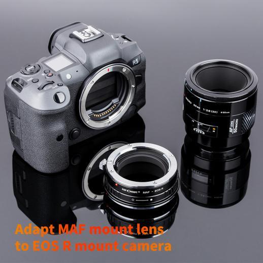 ミノルタA /ソニーAレンズマウントキヤノンEOS Rマウントカメラアダプター