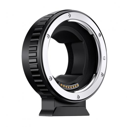 マウントブラケット付きの全自動焦点調整電子アダプターリング、EOS-E