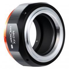 K&F M10115  M42-FX PRO,New in 2020 high precision lens adapter (orange)